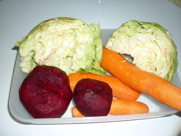 Составляющие салата