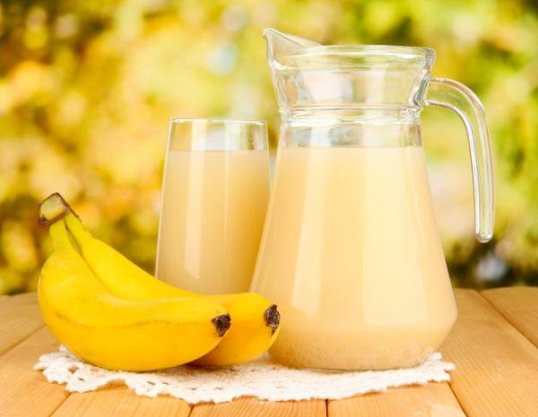 Бананы и напитки