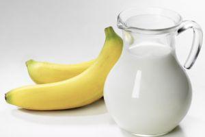 Бананы с молоком