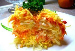 Морковь для салата