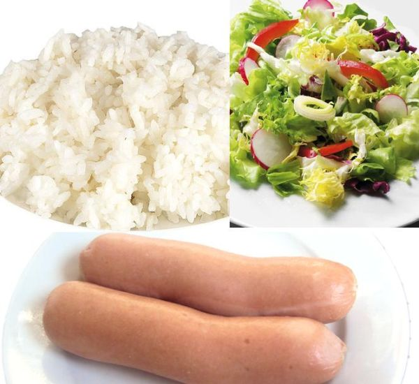 Калорийность обеда