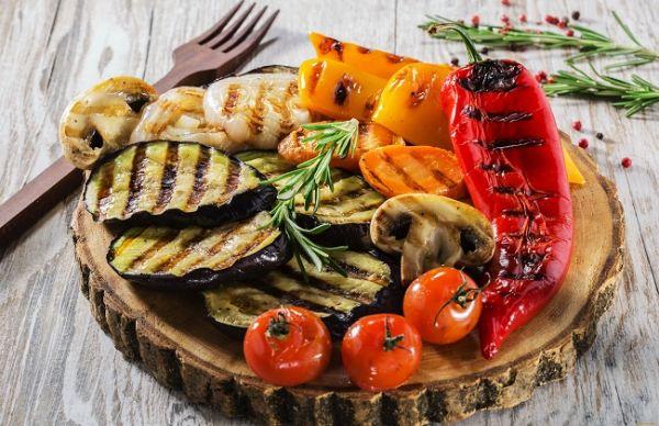 Овощи приготовленные на гриле