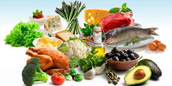 Продукты низкоуглеводной диеты