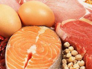 Продукты содержащие белки
