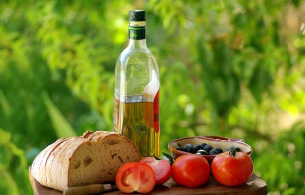 Помидоры с оливками