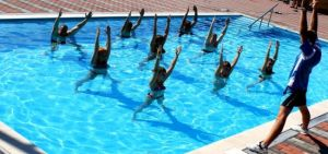 Упражнения на воде