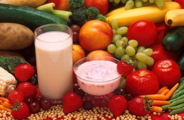 Овощи с кисломолочными продуктами