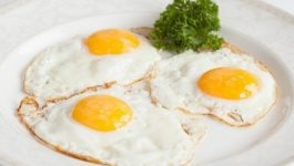 сколько калорий в яичнице