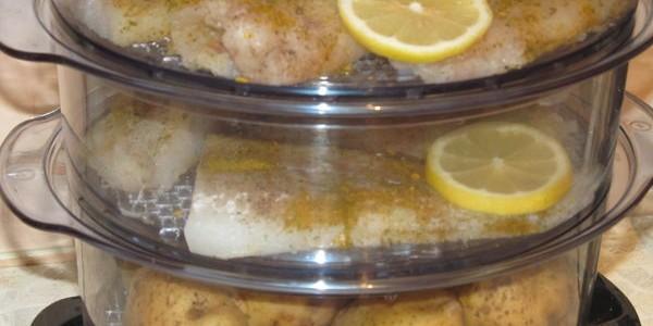 Минтай в пароварке рецепты с фото
