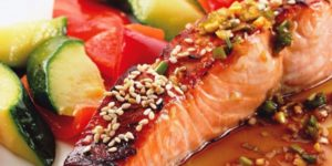 рецепт горбуши в соевом соусе