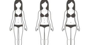 Идеальная фигура девушки при росте 160 и 170 см: параметры