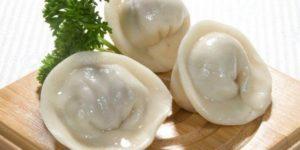 Калорийность пельменей (с мясом) на 100 гр: вареных, жареных