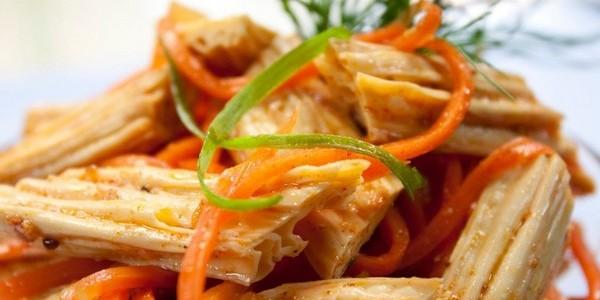 Салат из спаржи рецепты с фото