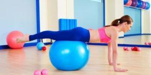 упражнения на фитболе при остеохондрозе