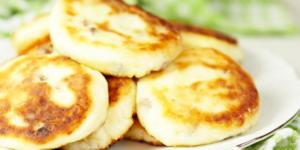диетический рецепт сырников