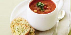 вегетарианский суп с нутом