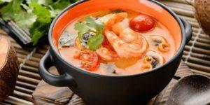 диетический суп том ям