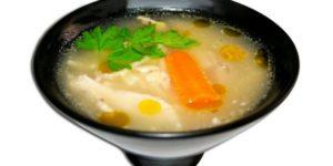 калорийность супа на курином бульоне