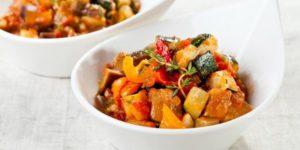 калорийность тушеных овощей на 100 гр