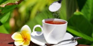калорийность сладкого чая
