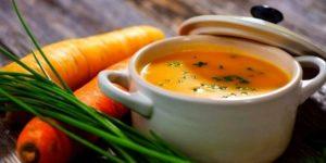 морковно-рисовый суп-пюре