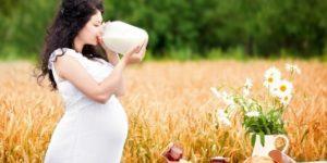 вред молока при беременности