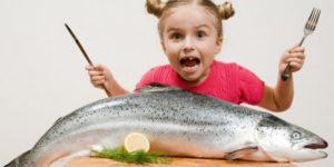 какая рыба полезна для детей