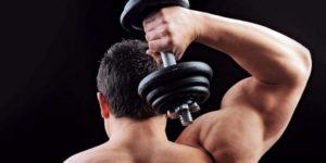 упражнения для плечей с гантелями