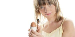 польза вареных яиц
