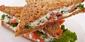 Сэндвичи с творожным сыром