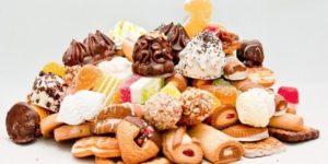 Недопустимые продукты во время диеты