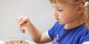 Питание ребенка при пониженном гемоглобине