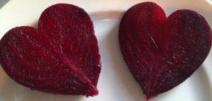 Сердцевидная форма овоща