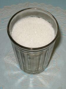 сколько сахара в стакане