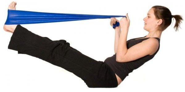 тренировки с резиновой лентой