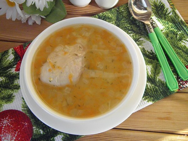 Перловый суп Гртскова