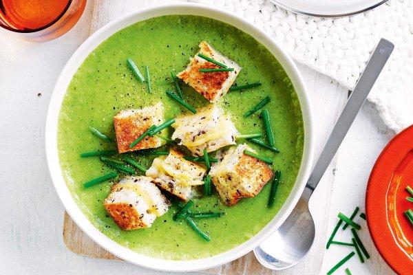 супю-пюре с капустой и картошкой