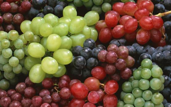 Калорийность разных сортов винограда на 100 грамм