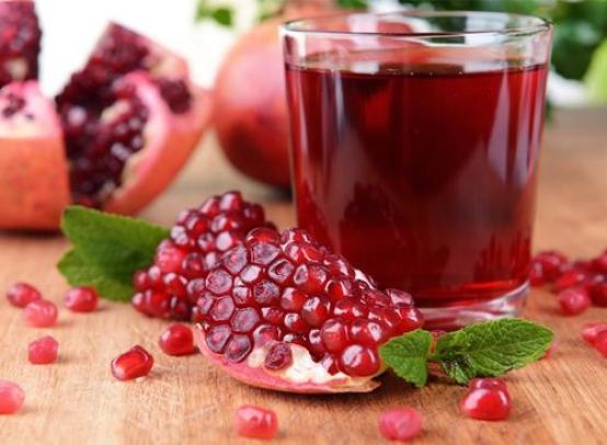 Польза и вред гранатового сока, калорийность, влияние на кровяное давление