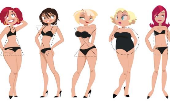 Как определить тип фигуры у женщины и подобрать одежду