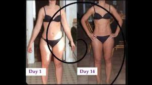 Похудение зы две недели