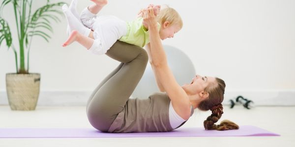 Гимнастика для мамы и малыша