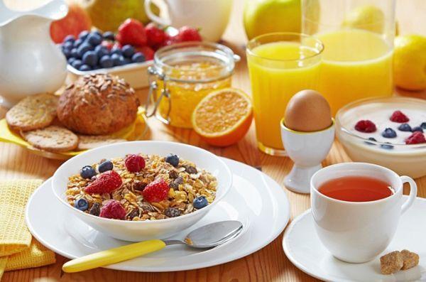 Из чего состоит завтрак