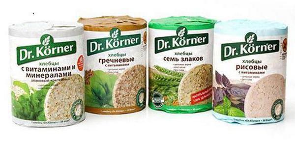 что содержится в хлебцах dr korner