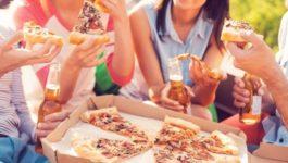 калорийность 100 гр пиццы