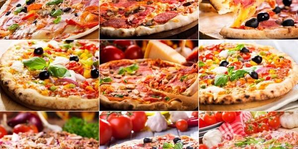 сколько калорий в 1 куске пиццы с колбасой