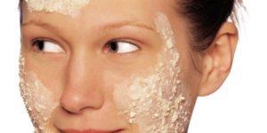 маски для лица с зерненым творогом