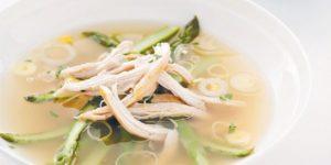 суп из соевой спаржи