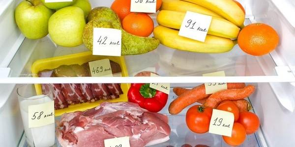 как высчитать калорийность продуктов