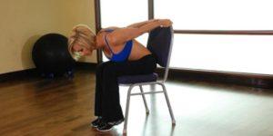 упражнения для грудного остеохондроза
